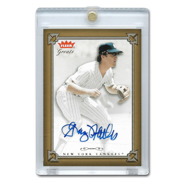 Graig Nettles Autographed Card 2004 Fleer Greats of the Game