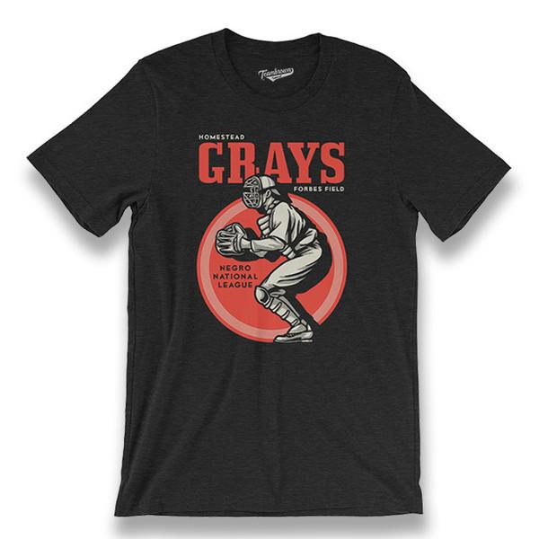 Men's Teambrown Homestead Grays T-Shirt