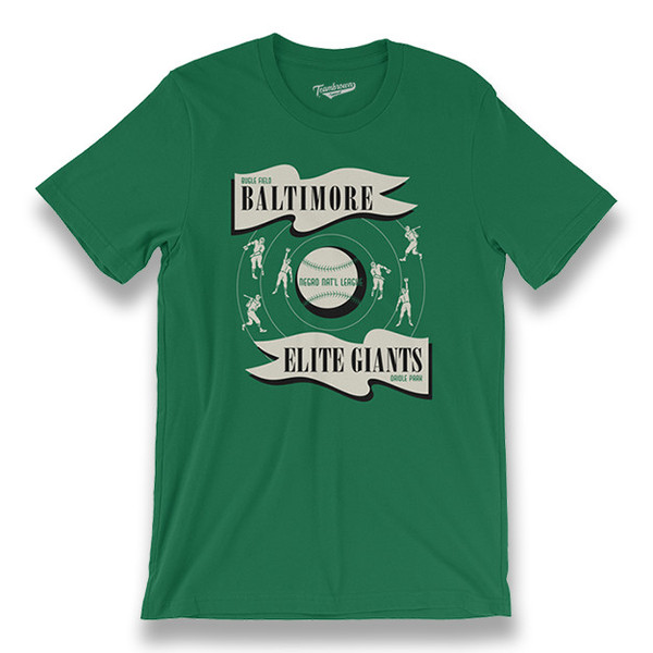 Men's Teambrown Baltimore Elite Giants T-Shirt