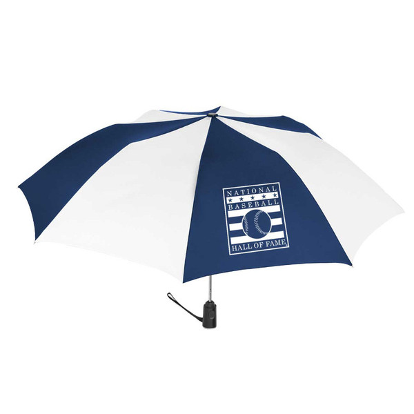 Baseball Hall of Fame Auto Open Compact 44 Inch Umbrella