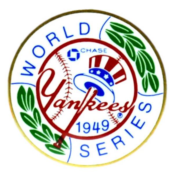 New York Yankees 1949 World Series Champions Logo Stadium Chase Pin