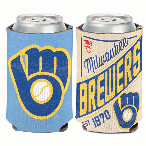 Milwaukee Brewers Cooperstown Can Cooler