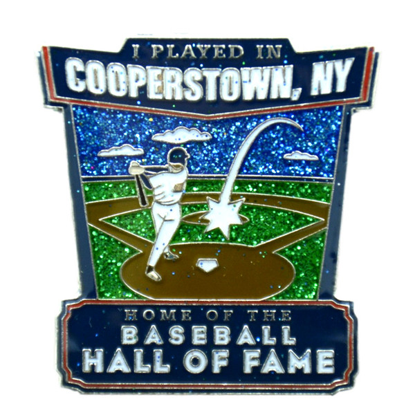 Baseball Hall of Fame I Played in Cooperstown Pin