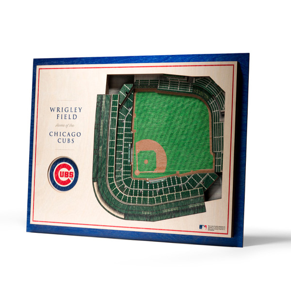 Chicago Cubs 5 Layer 17 x 13 StadiumViews 3D Wall Art