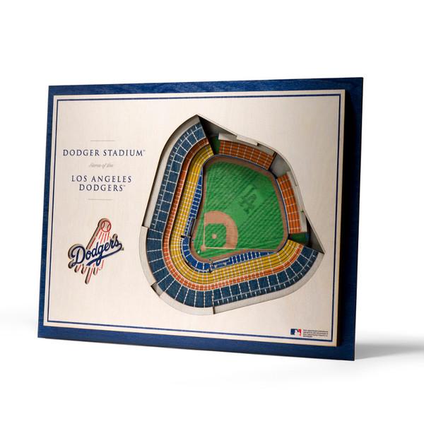 Los Angeles Dodgers 5 Layer 17 x 13 StadiumViews 3D Wall Art