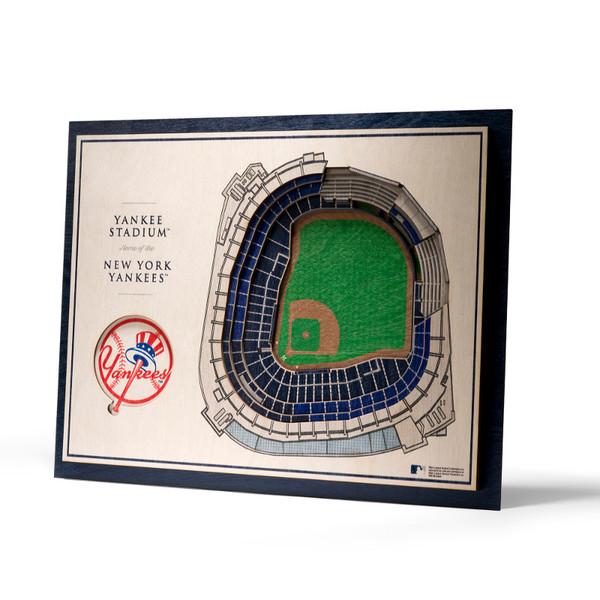 New York Yankees 5 Layer 17 x 13 StadiumViews 3D Wall Art