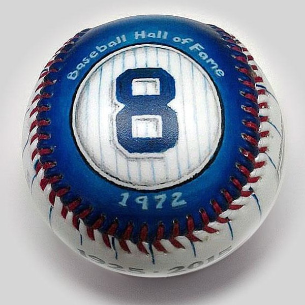 Yogi Berra It Ain't Over Unforgettaballs Limited Commemorative Baseball with Lucite Gift Box
