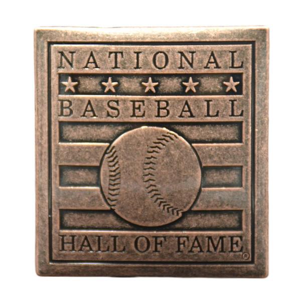 Baseball Hall of Fame Large Copper Logo Magnet
