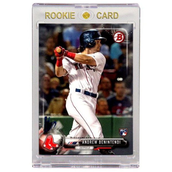 Andrew Benintendi Boston Red Sox 2017 Bowman # 23 Rookie Card