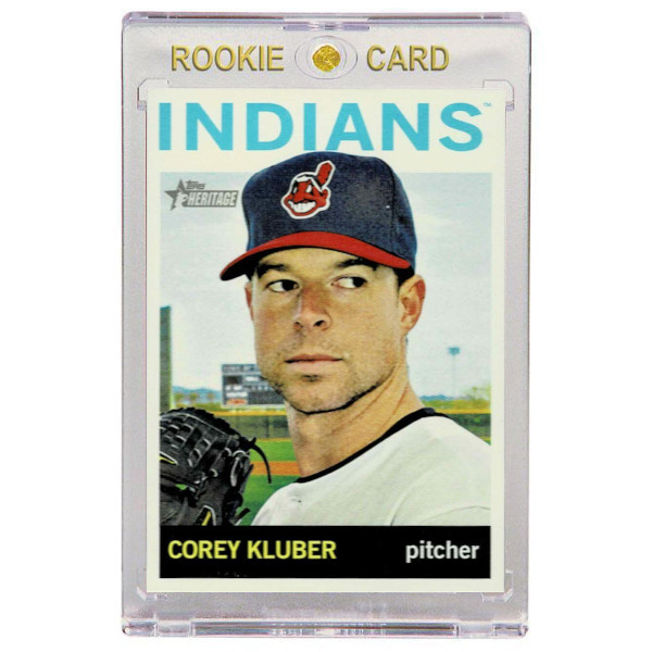 Corey Kluber Cleveland Indians 2013 Topps Heritage # H557 Rookie Card