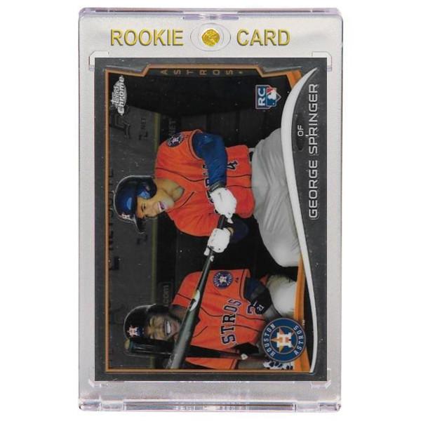 George Springer Houston Astros 2014 Topps Chrome # 138 Rookie Card
