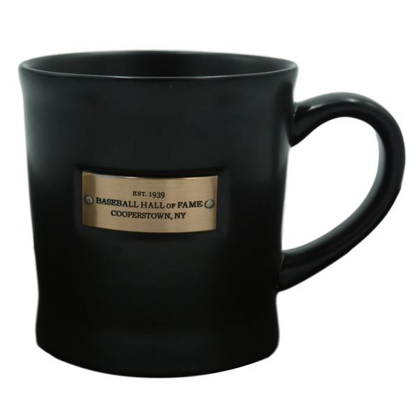 Baseball Hall of Fame Established 1939 Metal Plate Mug