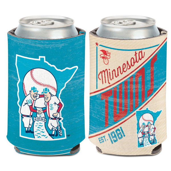 Minnesota Twins Cooperstown Can Cooler