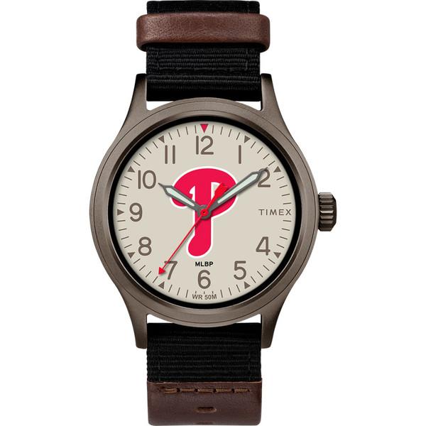 Timex Men's Phildadelphia Phillies Clutch Watch