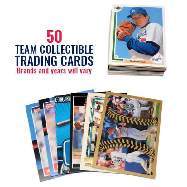 Los Angeles Dodgers 50 Card Team Baseball Card Lot