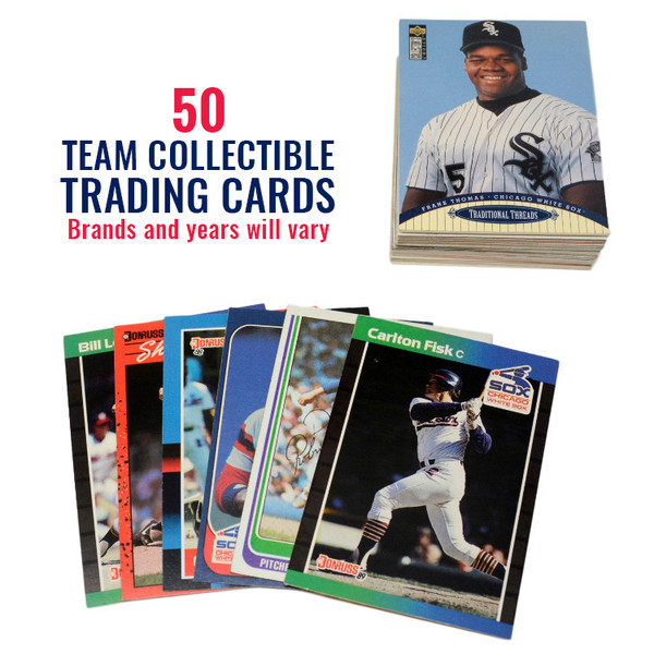 Chicago White Sox 50 Card Team Baseball Card Lot