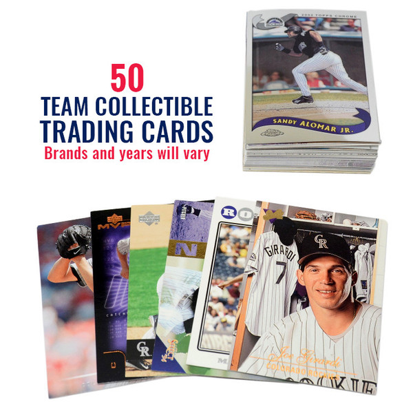 Colorado Rockies 50 Card Team Baseball Card Lot