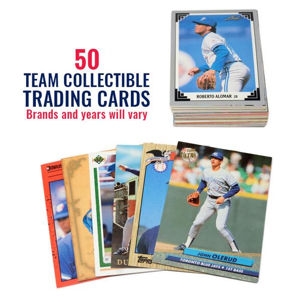 Toronto Blue Jays 50 Card Team Baseball Card Lot