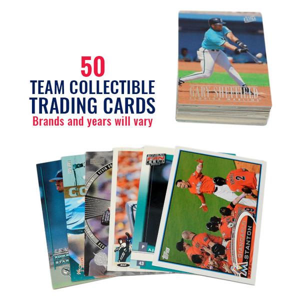 Miami Marlins 50 Card Team Baseball Card Lot
