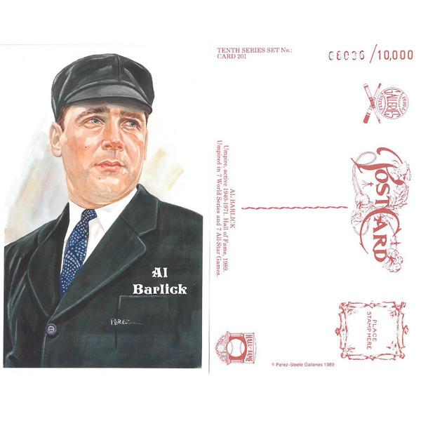Perez-Steele Al Barlick Limited Edition Postcard