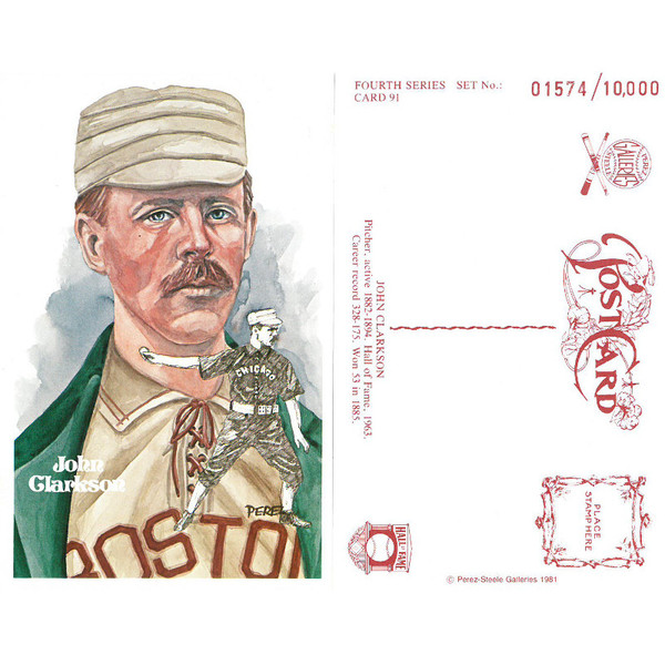 Perez-Steele John Clarkson Limited Edition Postcard