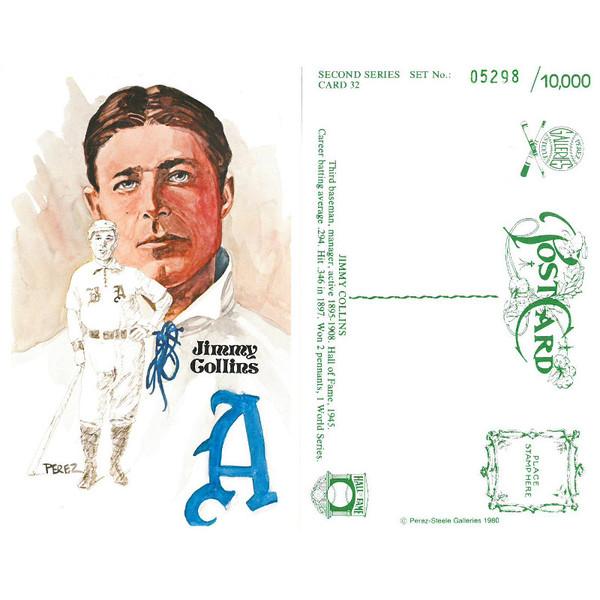 Perez-Steele Jimmy Collins Limited Edition Postcard