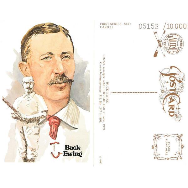 Perez-Steele Buck Ewing Limited Edition Postcard