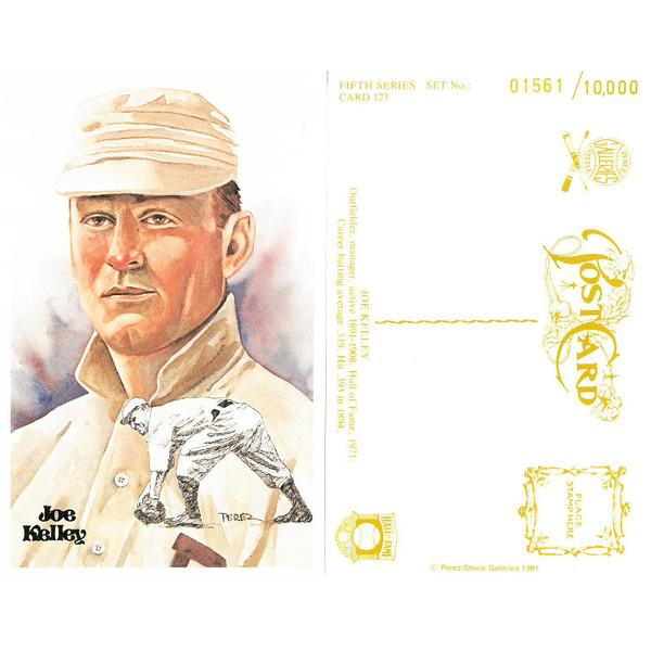 Perez-Steele Joe Kelley Limited Edition Postcard