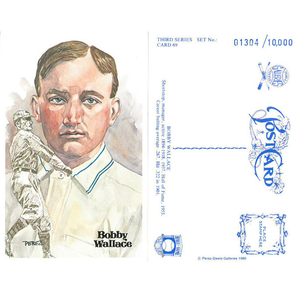 Perez-Steele Bobby Wallace Limited Edition Postcard