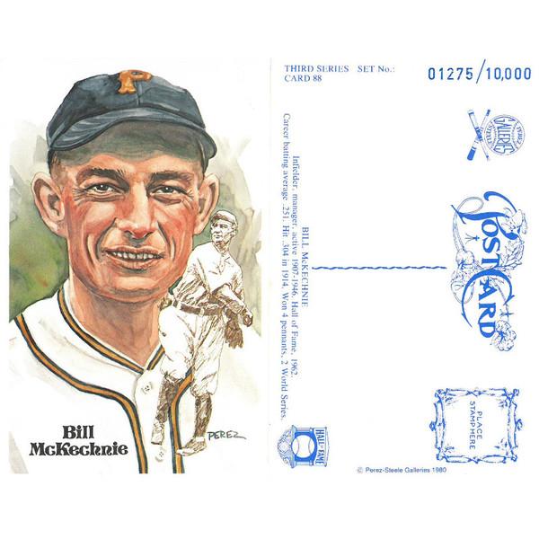 Perez-Steele Bill McKechnie Limited Edition Postcard