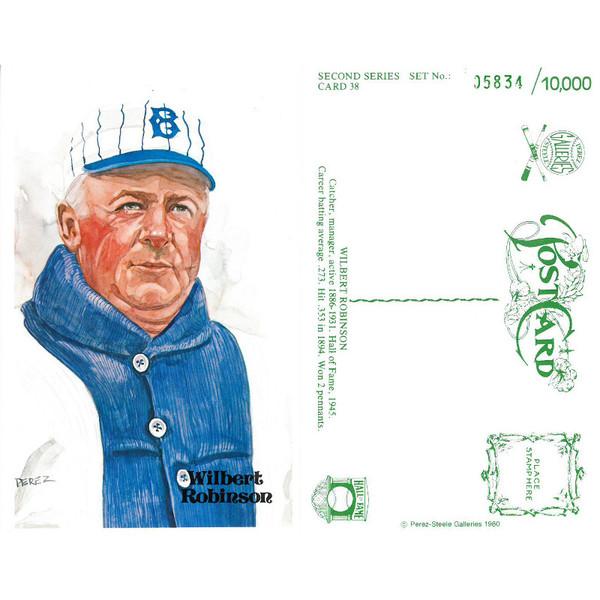 Perez-Steele Wilbert Robinson Limited Edition Postcard