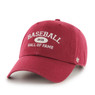 Men's '47 Brand Baseball Hall of Fame Cardinal Established Arch Adjustable Cap