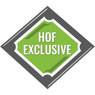 Baseball Hall of Fame Beaded Logo Key Chain