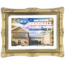 Baseball Hall of Fame Building Image with Gallery Frame