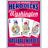 Hero Decks Caricature Playing Cards For Washington Nationals Fans