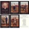 19th Century Hall of Famers Vintage Limited Edition 5 x 7 Postcard Set of 10