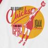 Unisex Teambrown Milwaukee Chicks AAGPBL Longsleeve Baseball Shirt