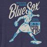 Unisex Teambrown South Bend Blue Sox AAGPBL Baseball Shirt