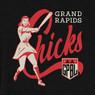 Unisex Teambrown Grand Rapids Chicks AAGPBL Baseball Shirt