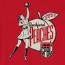 Unisex Teambrown Rockford Peaches AAGPBL Baseball Shirt