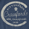 Unisex Teambrown Pittsburgh Crawfords Champions Collection Longsleeve Baseball Shirt