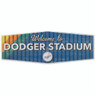 Open Road Los Angeles Dodgers 10 x 28 Wood Cooperstown Collection Wall Art