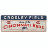 Open Road Cincinnati Reds 10 x 28 Wood Cooperstown Collection Wall Art