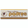 Open Road San Diego Padres 10 x 28 Wood Cooperstown Collection Wall Art