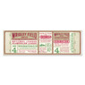 """Brooklyn Dodgers 1955 Game 4 World Series Ticket 48"""" Wall Decal"""