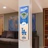 Los Angeles Dodgers 8 x 32 3D StadiumView Banner