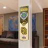 San Diego Padres 8 x 32 3D StadiumView Banner