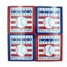 Baseball Hall of Fame Coaster Set of 4