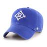 Men's '47 Brand Brooklyn Dodgers Cooperstown McLean Clean-Up Adjustable Royal Cap