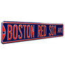 Boston Red Sox Navy Authentic Street Signs 6 x 36 Steel Team Street Sign